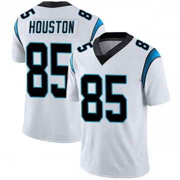 Men's Wyatt Houston Carolina Panthers Limited White Vapor Untouchable Jersey