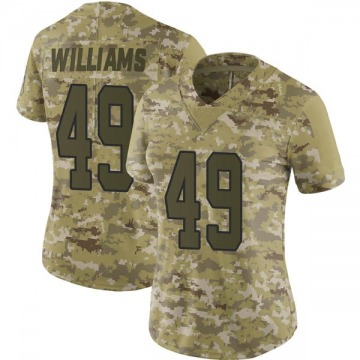 Women's Antwione Williams Carolina Panthers Limited Camo 2018 Salute to Service Jersey