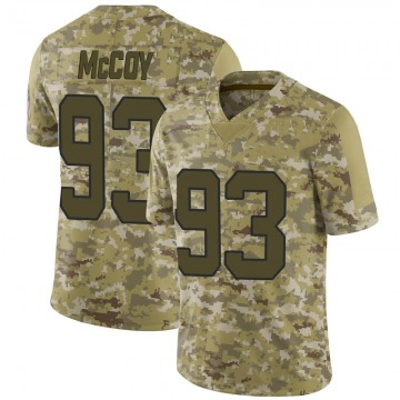 Youth Gerald McCoy Carolina Panthers Limited Camo 2018 Salute to Service Jersey