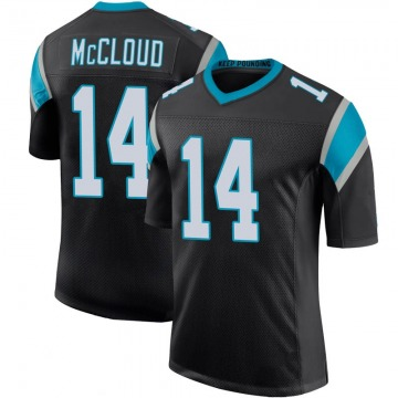 Youth Ray-Ray McCloud III Carolina Panthers Limited Black Team Color 100th Vapor Untouchable Jersey