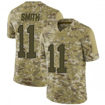 Youth Torrey Smith Carolina Panthers Limited Camo 2018 Salute to Service Jersey